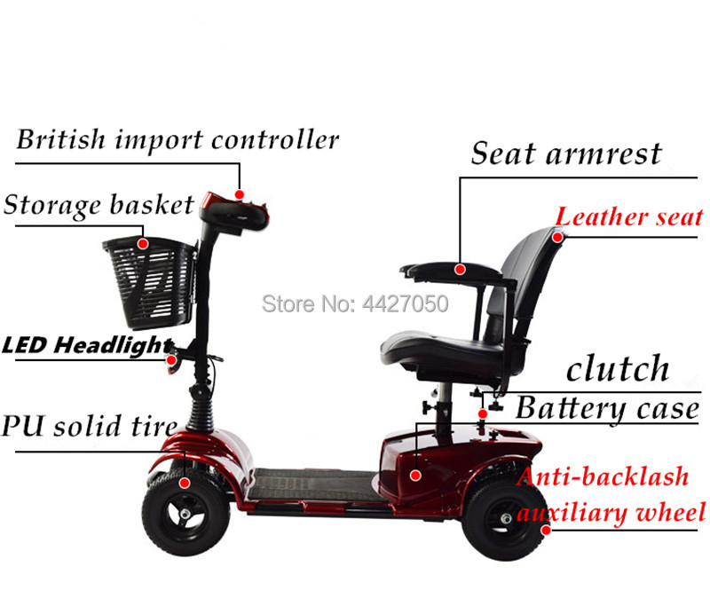 High quality electric font b wheelchair b font scooter for elderly and font b disabled b