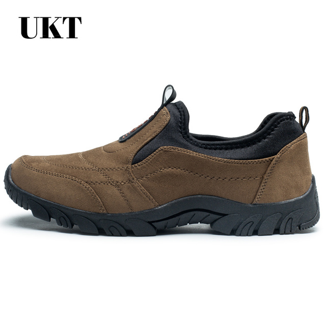 sale hiking shoes sneakers slip-on outdoor camping 2017 trek sport men climbing outventure sapatos masculino medium(b,m)