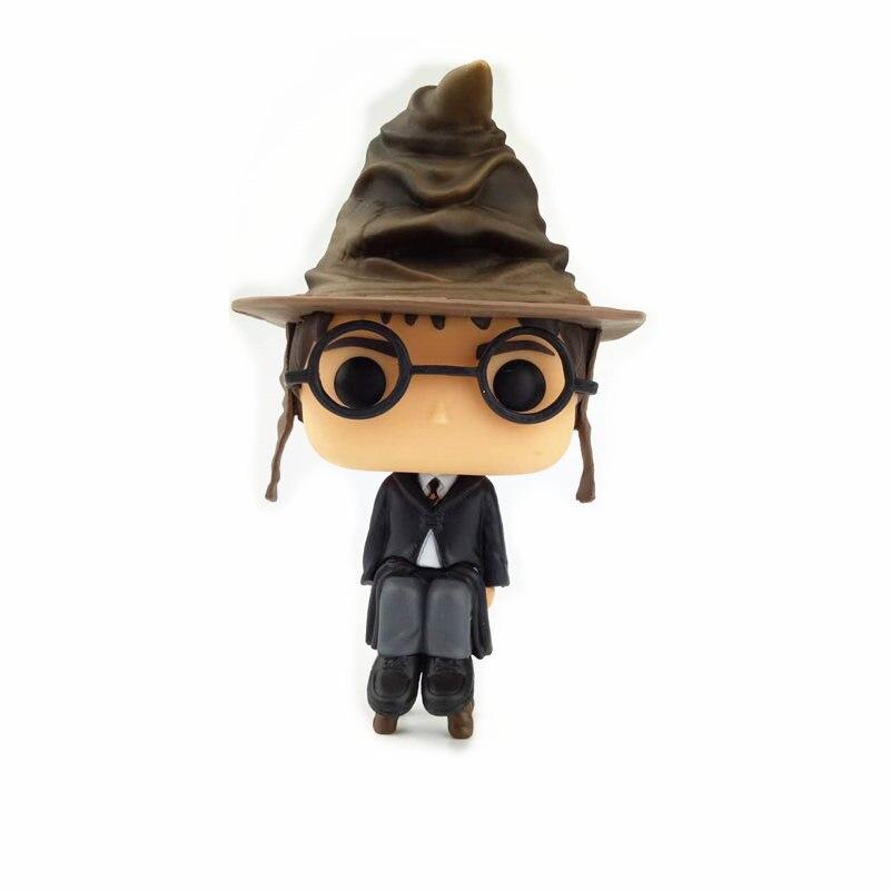 NEW 10cm Harry Potter LUNA LOVEGOOD action figure Bobble Head Q Edition no box for Car Decoration