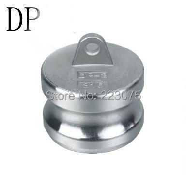 Free shipping SS304 Stainless Steel CAM LOCK CAMLOCK  TYPE DP Dust Plug 1-1/2 newest racerstar starf3s 30a bl