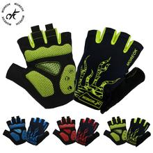 Brand Cycling Bicycle Half Finger Gloves Men Mtb Bike Motocross Luvas Guantes Bicicleta Invierno Ciclismo Motorcycle