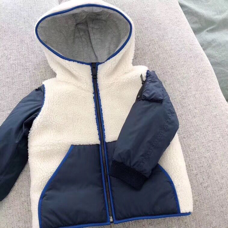Kids Coat Autumn Winter Boys Girls Jacket for Children Clothing Hooded Outerwear Baby Boy Clothes in end of September baby clothes sets children boys girls tracksuits kids spring autumn sport suits zipper jacket pants in end of september