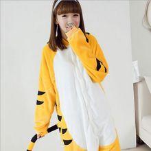 Hot NEW Jump tiger Pajamas animal pajamas one piece Costume Adult Cosplay Flannel Sleepwear vestido pijama mulher