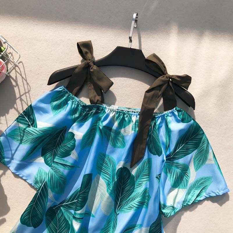 NiceMix японское кимоно Харадзюку Защита от солнца Свободный кардиган с длинными рукавами кран печати блузка лето Ретро Повседневная Блузка Верхняя одежда