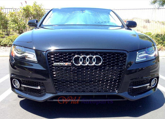 s4 wheels Picture - More Detailed Picture about Sport RS4 Style Front Glossy Black Sline Euro ...