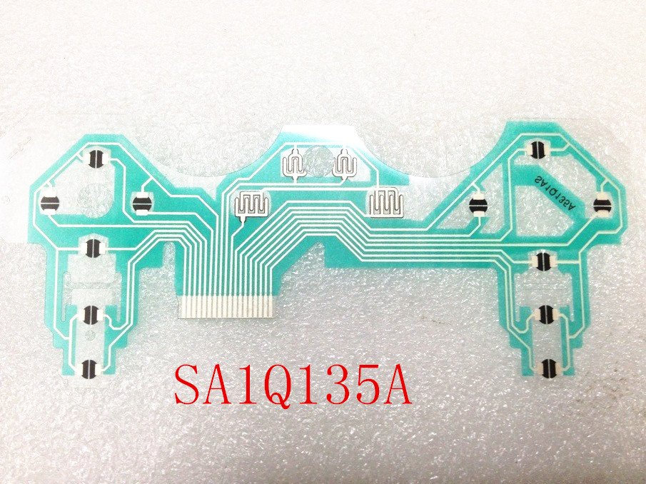 popular oem ps3 controller buy cheap oem ps3 controller lots from hot 5 pieces sa1q135a conductive film keypad flex cable repair circuit board part pcb circuit