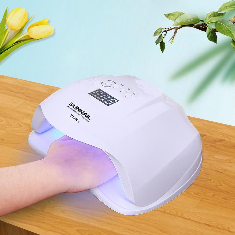Abody ногтей лампа 54 Вт УФ-лампы солнца X 36 светодио дный s ногтей Сушилки светодио дный Ice УФ-лампы для всех гель лак для ногтей сушки отверждени...