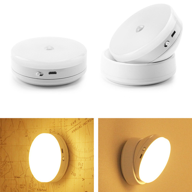 Magnetic 03 Motion Powered Light Lamps Battery 3 In Degree For MVpLSzqUG
