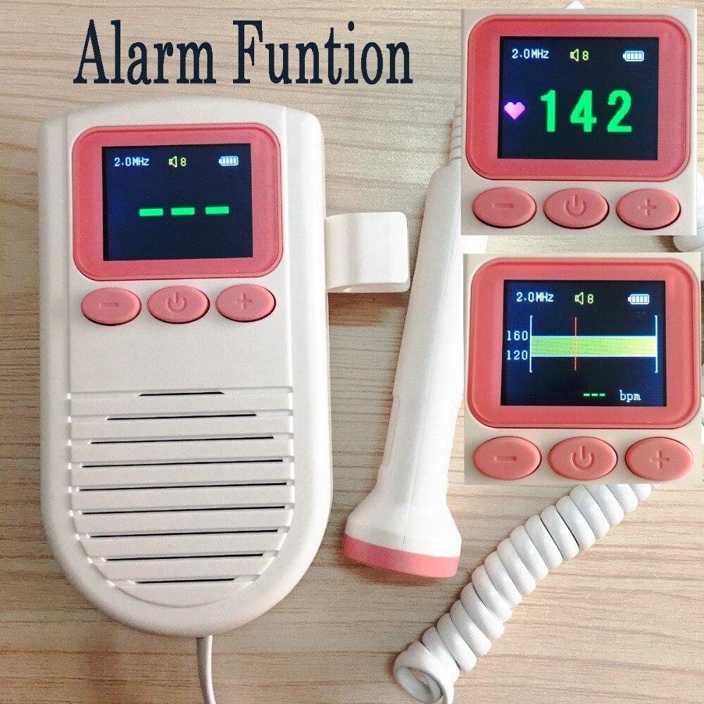 FHR Curve Display & Alarm Fetal Doppler Portable
