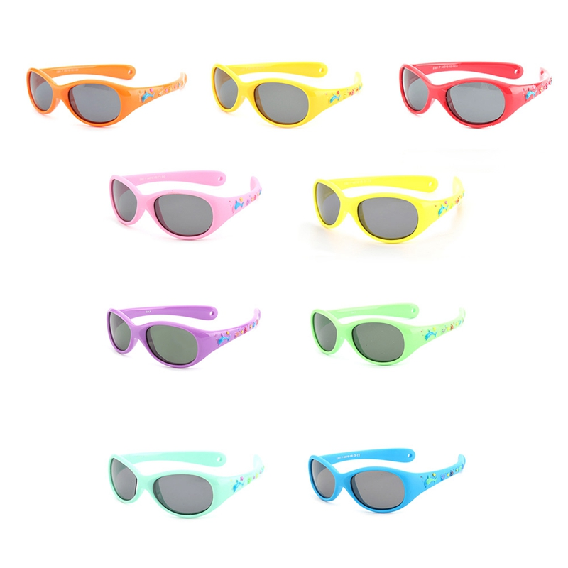 Flexible Kleines Baby Sonnenbrille Jungen Kleine Größe Polarisierten Gläsern Spiegel Kinder Sonnenbrille Kind 1-3 Jahre Dinge FüR Die Menschen Bequem Machen