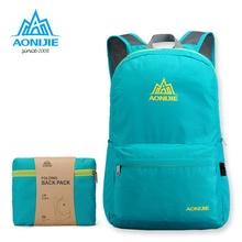 AONIJIE Lightweight Foldable Waterproof Nylon Women Men Backpack Travel Outdoor Sports Camping Hiking Bag Rucksack
