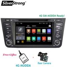 SilverStrong Android8.1 4G автомобильный DVD для Geely GX7 Emgrand X7 с навигацией радио 2din с 4G модем готов для sim-карты