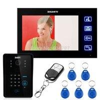 Touch Key 7 LCD Video Door Phone Intercom System Wth IR Camera & Code Keypad