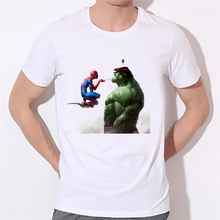 Spider-Man X Hulk T-shirt