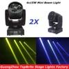 2Pcs Lot CREE 60W Led Moving Head Spot Effect Light 4x15W Super Beam Wash Mini Lighting