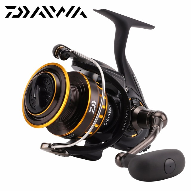 a70a73e258e DAIWA BG 1500-8000 Spinning Fishing Reel Max Drag 2kg-15kg 6+1BB ATD Metal  wire Body Saltwater Air Rotor Sea fishing Reel
