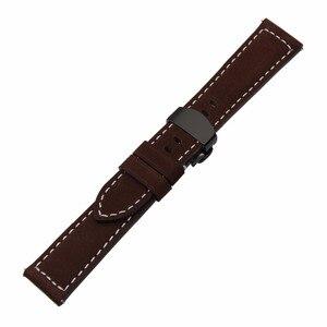 Image 3 - Włochy pasek do zegarka z prawdziwej skóry 20mm 22mm do zegarka Samsung Galaxy 42mm 46mm R810/R800 Quick Release Band motyl zapięcie na pasek
