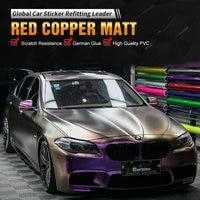 Carbins пленка красная медная цветная пленка виниловая пленка для всех автомобилей модель Стайлинг пользовательская наклейка
