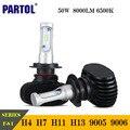 CSP Partol 50 W H4 H7 H11 9005 9006 LED Farol Do Carro 8000LM 6500 K Auto LED Faróis de lâmpadas Luz de Condução 12 V 24 V Série NF-S1