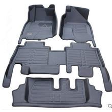 Высокое качество! Пользовательские автомобильные коврики для Toyota Land Cruiser Prado 150 7 мест-2010 водонепроницаемые ковры для Prado 150