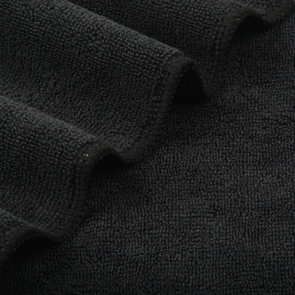 "Sinland الصانع ألياف دقيقة ذات قدرة كبيرة على الامتصاص المناشف مايكرو الألياف تنظيف الملابس مسح الغبار سجاد الأسود الأزرق 12 ""x 12"" 50 قطعة-في أقمشة التنظيف من المنزل والحديقة على  مجموعة 2"
