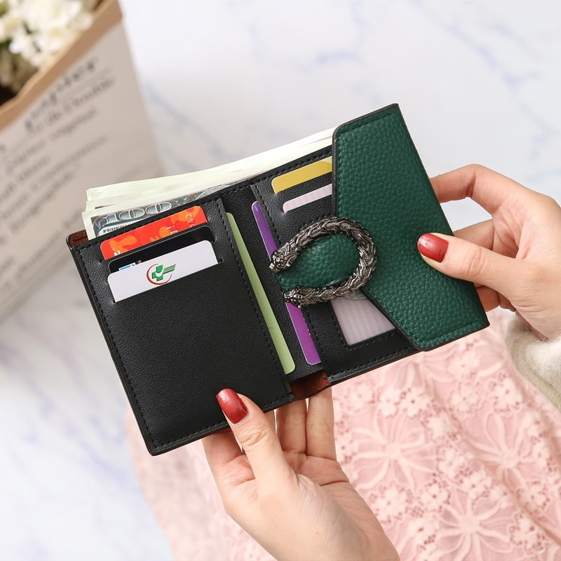 Luxury Women's Wallets Card Holder Clutch bag Classic Hasp Purse for Girls Fashion Female Zipper Wallet With Coin Pocket