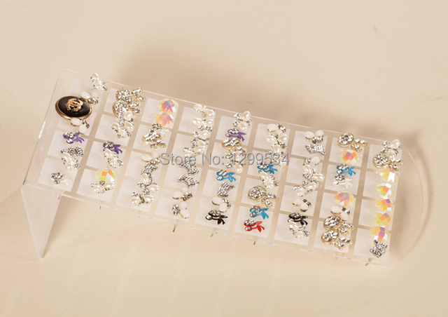 Free Shipping 20pcs Lot 36pairs Clear Plastic Stud Earrings Display Holder Fashion Jewelry Earring