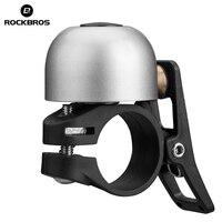 ROCKBROS велосипедный Звонок алюминиевый Рог кольцо MTB велосипед мини звонок на руле велосипеда кольцо чистый громкий звук велосипедные аксесс...