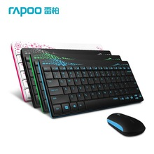 Rapoo X220  Keyboard & Mouse Combos,Slim 2.4G Wireless Optical  Wireless Keyboard Mouse for Laptop PC Computer Accessories