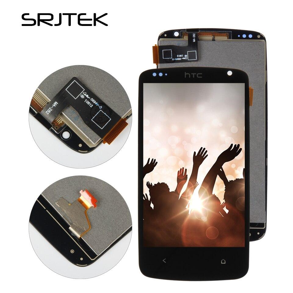 Srjtek écran Pour HTC Desire 500 LCD Affichage Digitizer Écran Tactile En Verre Panneau LCD Affichage Assemblée Remplacement + outils