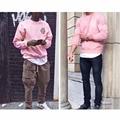 Pink hot mens hip hop ANTI SOCIAL SOCIAL CLUB sweatshirts Hoodies Men street twear set ASSC winter Pullover male Streetwear