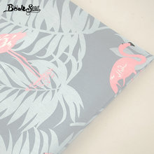 Booksew 100% Cotton Twill Fabric Red-crowned Crane Design Home Textile For Patchwork Bedding Baby Pillow Cushion Quilting Tela(China)