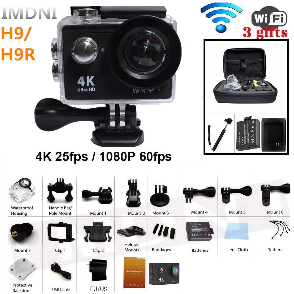 Prix pour IMDNI D'origine 4 K WIFI Camera Action sport caméra