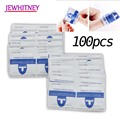 Jewhiteny 100pcs Nail Polish Remover Wraps Gel Nail Polish Easy Soak Off Remover Manicure Nail Art Cleaner Nails Remover Tools