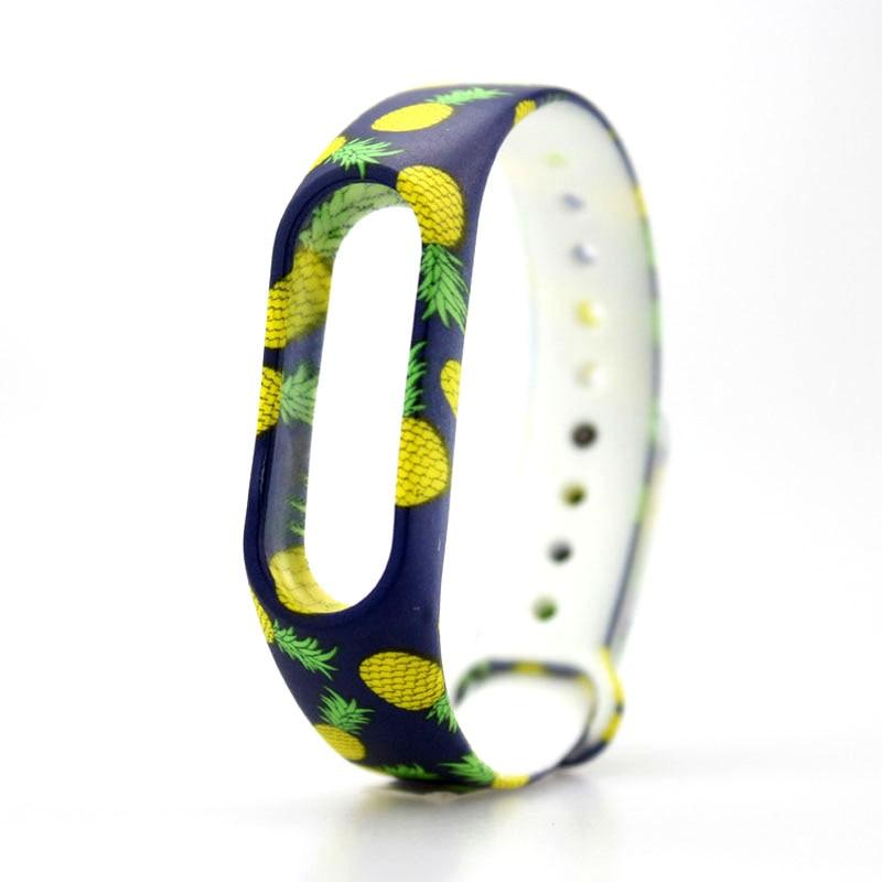 Colorful Silicone Replace Wristband Smart Watch Band Bracelet Wrist Strap Accessories For Xiaomi Mi 2 JLRL88