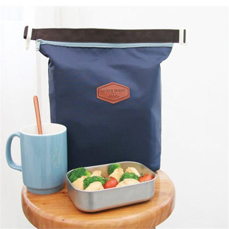 28cm*24cm*9cm Storage Bag Lunch Bags Thermal Tote Portable Insulated Pouch Cooler Waterproof Food Handbag Sep1