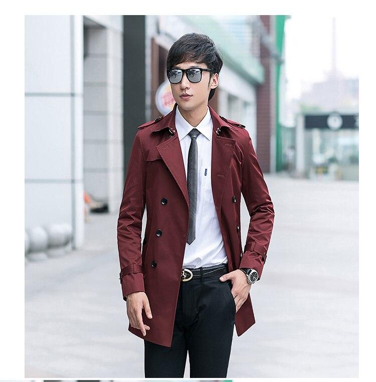 2017new Ankunft Winter Mercerisierter Baumwolle Mantel 70% Luxus Mantel Männer Hochwertige Mode Jacke Blazer Plus Größe Xs-9xl10xl Eine Lange Historische Stellung Haben