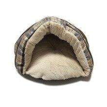 Super Weiche Winter Warme Katze Haus Puppy Decke Chihuahua bett Hund Bett Totoro Ji Wawa Haus Kleine Hund Haus kaninchen