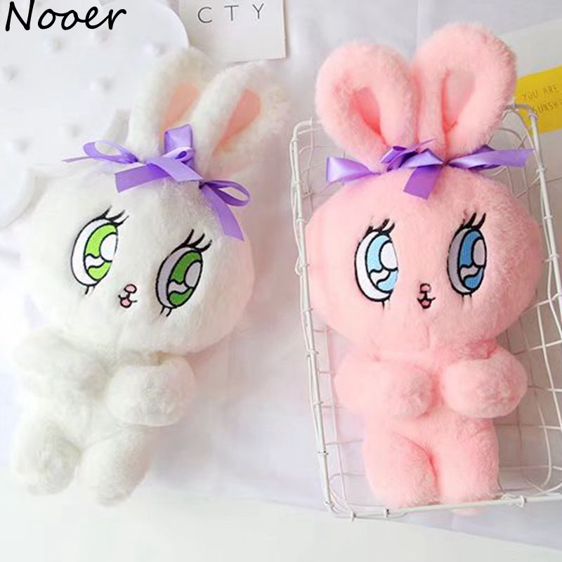 Nooer Kawaii Rabbit Dolls Baby Play Soft Rabbit Plush Toy Sleeping Comfort Dolls For Kids Girls Children Birthday Christmas Gift goplus kids wooden toy shop market children shopping pretend play set colorful toddler baby christmas birthday gift hw56112