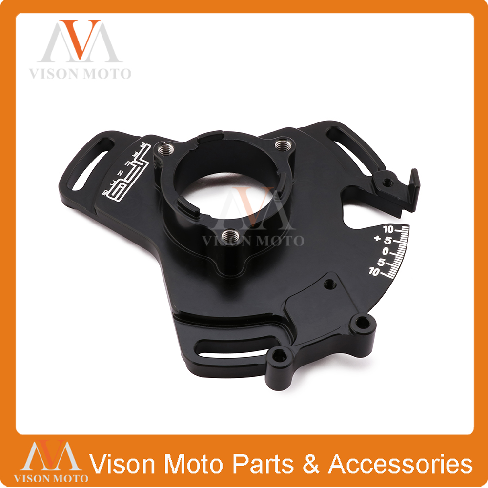 Engine Parts Magneto Stator Coil Timing Plate 10 degree Adjustable For Yamaha YFZ 350 YFZ350 Banshee 1987 1988 1989 2000-2006