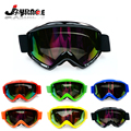Stripe Style Motorcycle Glasses KTM Masque Motocross Moto Cross Country Flexible Goggles Tinted UV Reflective Glass