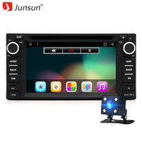 Junsun 6 2 Android 6 0 Car DVD Player 2 Din Universal Autoradio GPS Navigation For