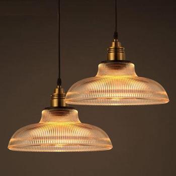 Edison Industrial Loft Style Vintage Pendant Light Fixtures For Dining Room Hanging Lamp Iron Glass Droplight Indoor Lighting