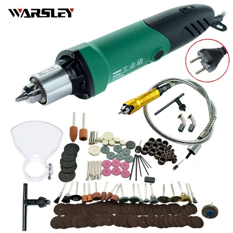 Estilo Mini Furadeira Elétrica gravador Dremel com Posição 6 forDremel Velocidade Variável Rotary Ferramentas com Haste Flexível e