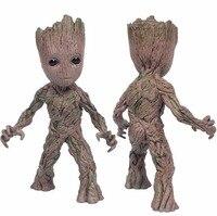 Sıcak 15 CM Guardians Galaxy 2 Ağaç adam bebek Anime Koleksiyonu Action Figure PVC Model oyuncaklar için Hediyeler çocuklar|Aksiyon ve Oyuncak Figürleri|   -