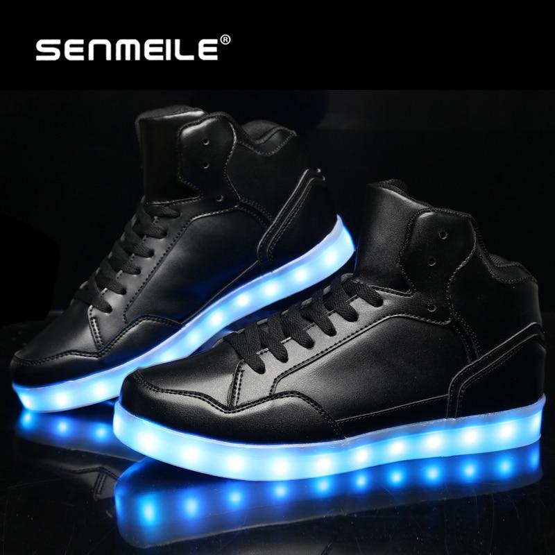 2016 yeni stil yüksek kaliteli 7 renk işıltılı led işık up yetişkinler için rahat ayakkabılar 705