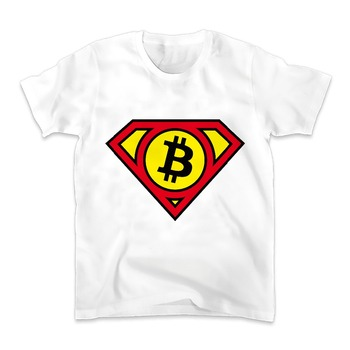 SUPER Bitcoin HERO LOGO T-Shirt