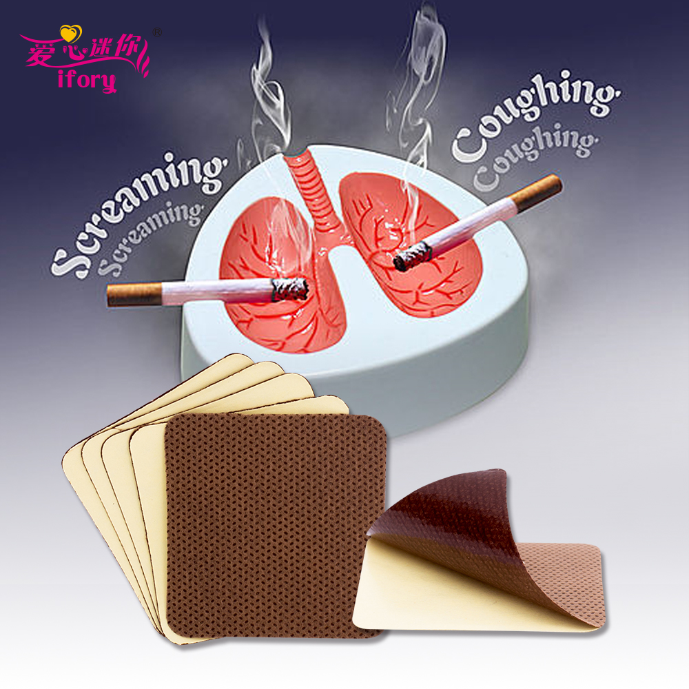 Ifory Dropship Anti Smoke Patch 50/100/200 Pieces Natural Ingredient No Side Effect Cessation Patch to Give Up Smoking 1