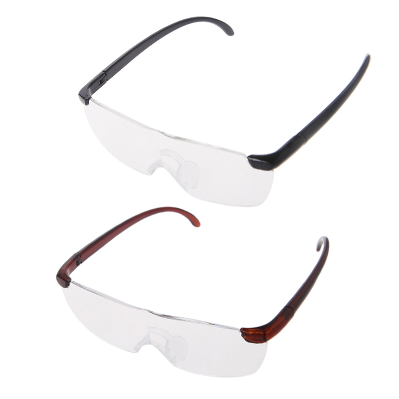 1684132051 1.6 Times Big Vision Magnifier Glasses Men Women Reading Glasses Magnifying Presbyopic  Eyewear Gift For Needle