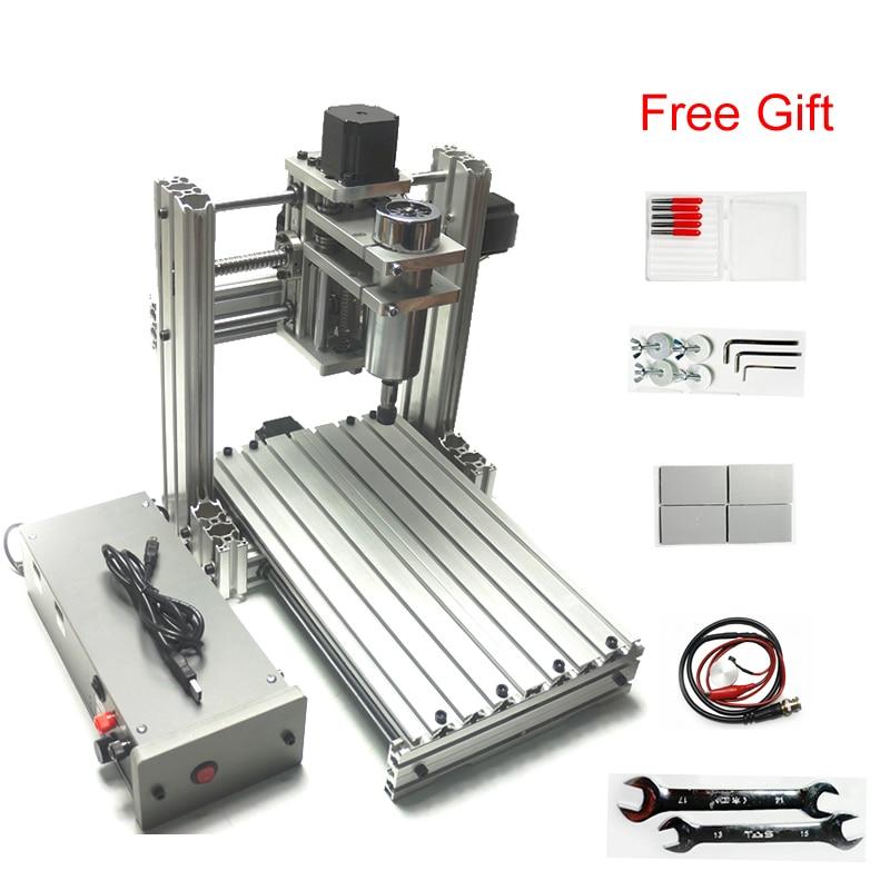 Tam metal Mini CNC freze makinesi 3 eksen DIY cnc oyma makinesi 3020Tam metal Mini CNC freze makinesi 3 eksen DIY cnc oyma makinesi 3020